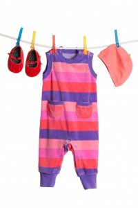 4058654-a-set-of-children-s-clothes-hanging-on-a-clothesline